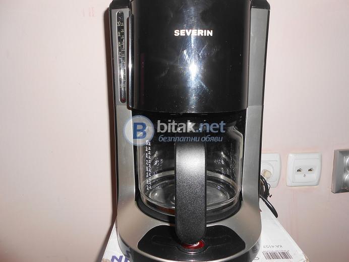 Кафе машина severin ka 4157 втора употреба