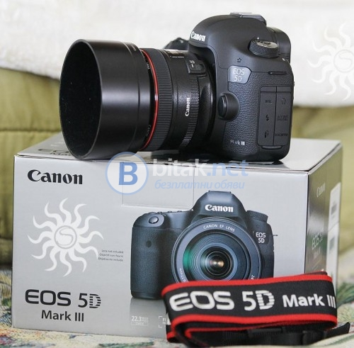 Canon eos 5d mark iii с ef 24-105mm is обектив