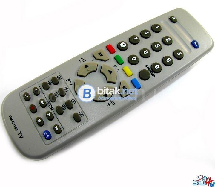 Jvc rm-c1100 - дистанционно управление за телевизор