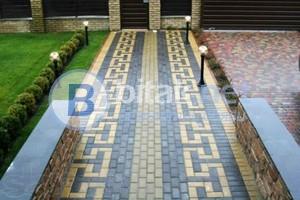 Асфалтиране на малки и големи площи редене на тротоарни плочи бордюри павета