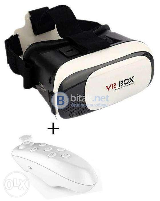 Очила 3D за телефони за виртуална реалност VR BOX 02