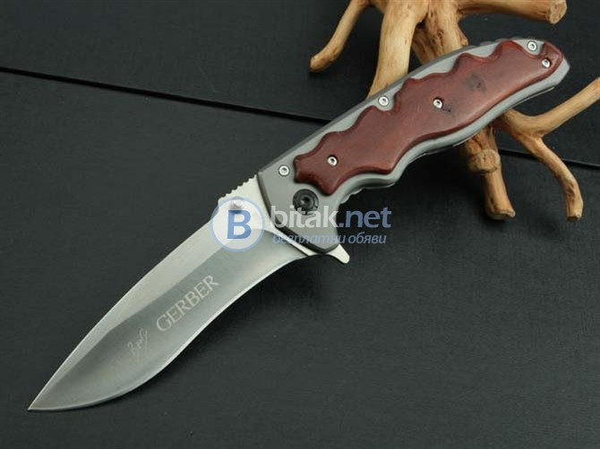 Сгъваем нож с клипс Гербер gerber f64 - 102х 230
