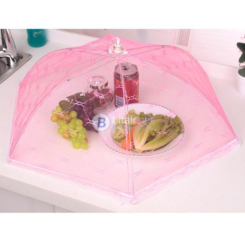 Сгъваема мрежа комарник за храна чадър протектор за пикник барбекю Нов