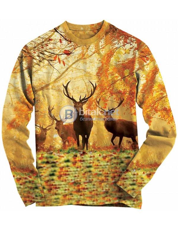 Ловна 3D блуза