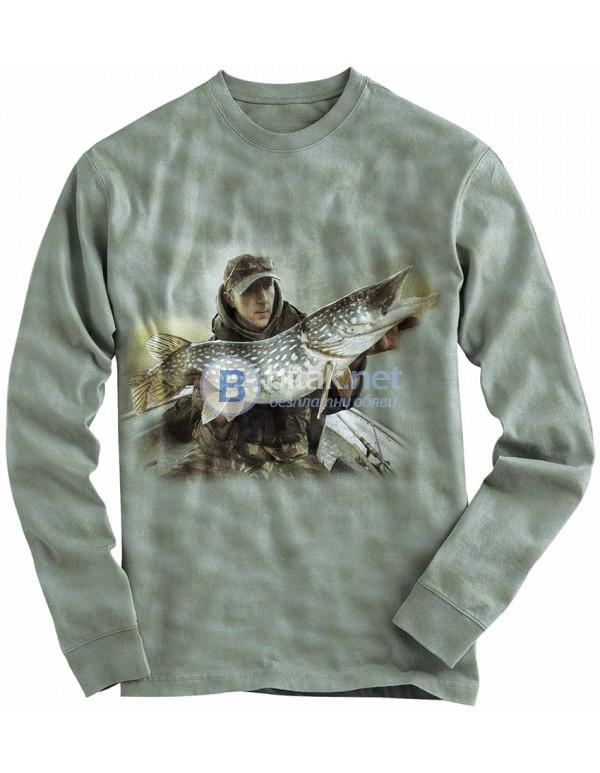 3D риболовна блуза