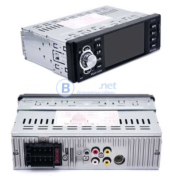 DVD Pioneer Мултимедиа за кола 1-din Mp3, Mp4, Mp5 Car Player , Музика за кола, Радио за кола