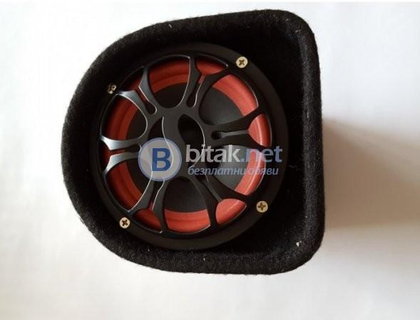 Суб буфер с USB, SD карта, FM и дистанционно за кола и домашна употреба V-500