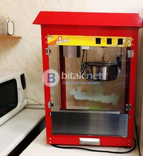 """Машина за пуканки под наем от """"НОВА Кетъринг"""", подходяща за всеки празник!  http://www.novva.bg"""