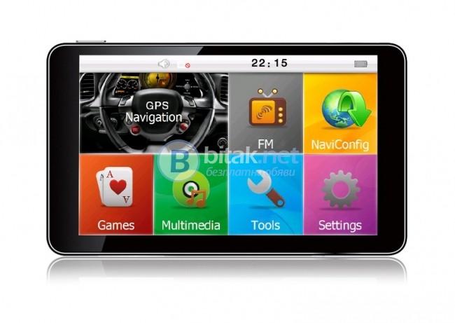 Ново! GPS 7'' с бърз процесор