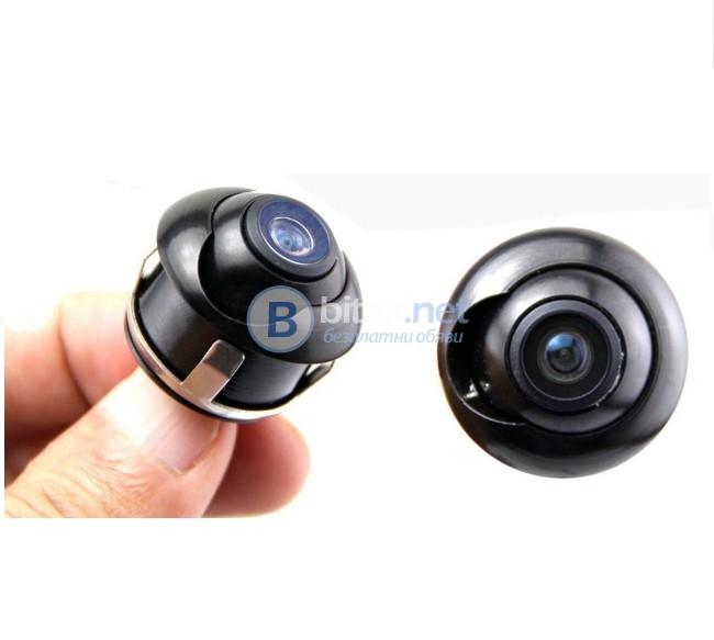 Водоустойчива камера въртяща се камера за задно виждане