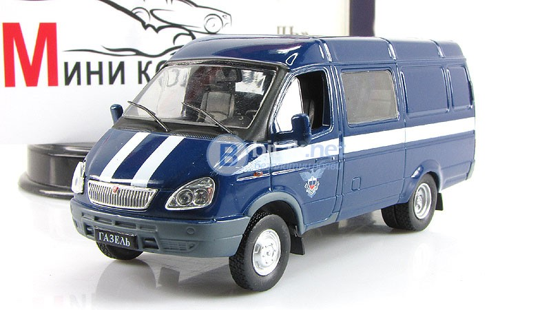 "ГАЗ-2705 ""Газель"", ""DeAgostini"" 1:43"