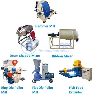 машини за производство на плаваща Храна за риба и домашни любимци