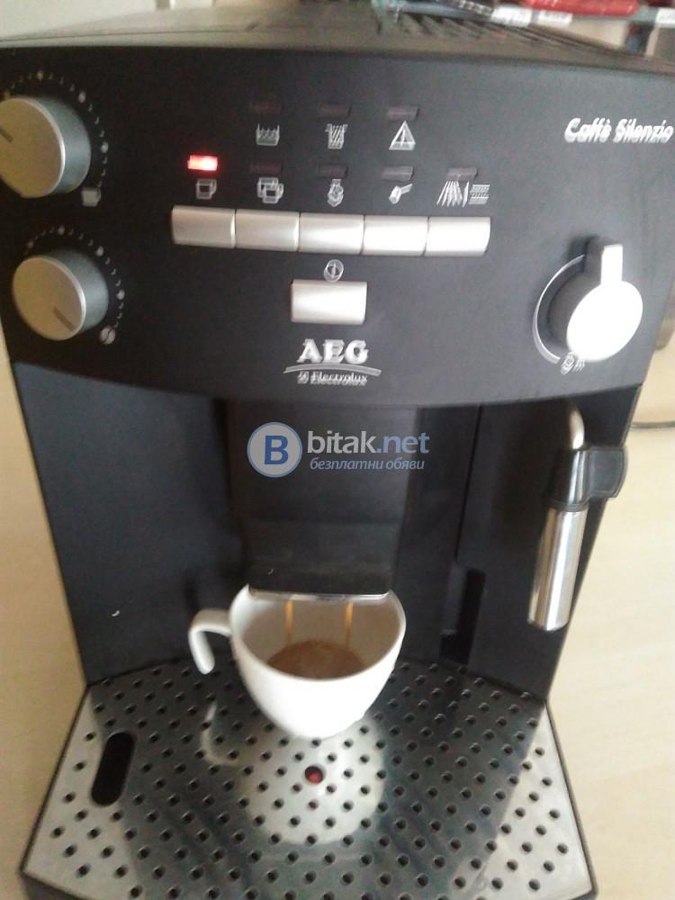Кафеавтомат AEG Electrolux CAFFE SILENZIO CS 5000