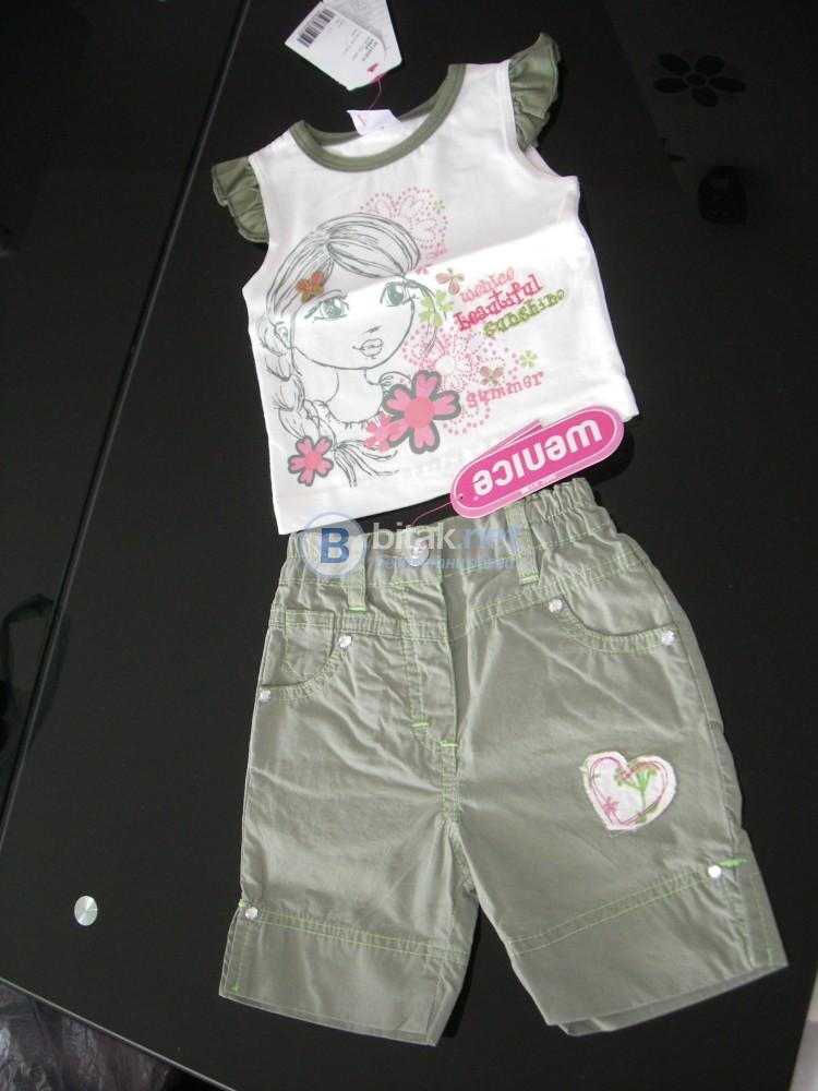 Нови маркови дрешки за момиченце 6-9м