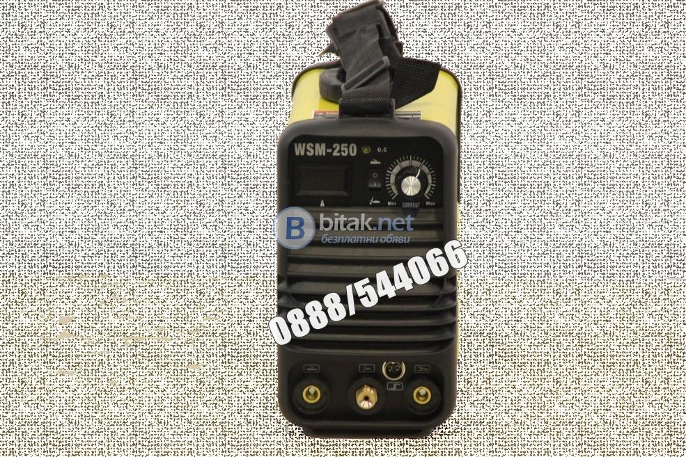 Електрожен инверторен с аргон WSM 200 VIKI LUX дигитален