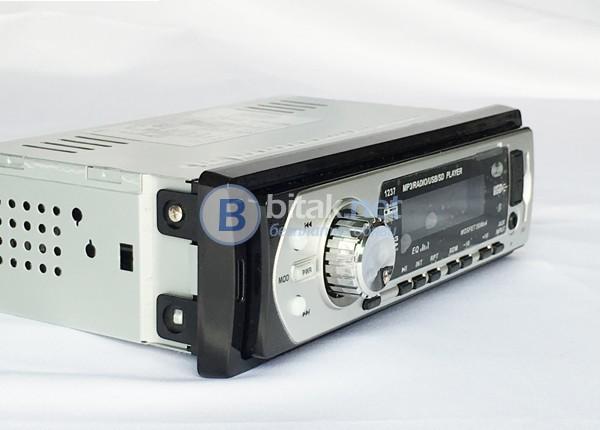 Авто аудио плеър DEH-1237 с USB, SD и AUX-4х50W и евробукса