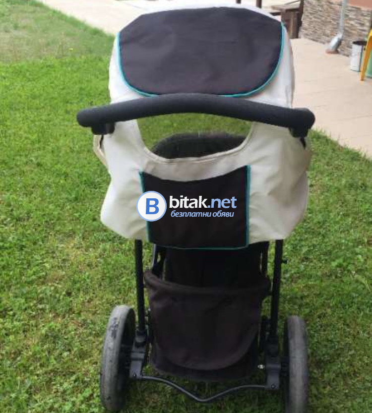 Бебешка количка,триколка Hauck