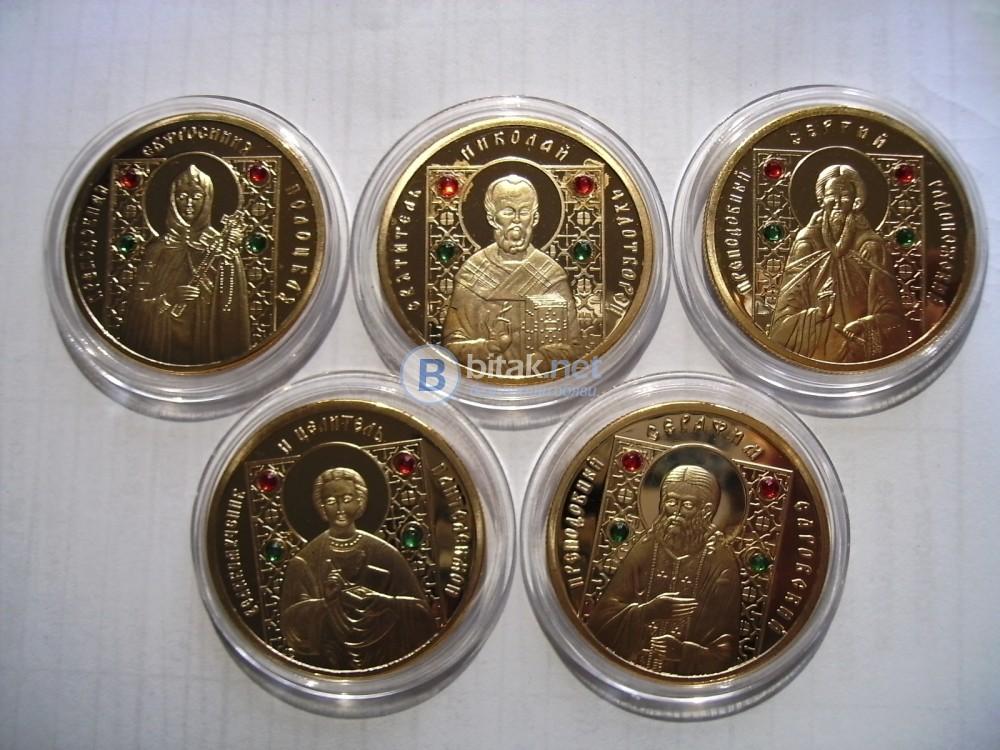 Монети Чудотворни икони