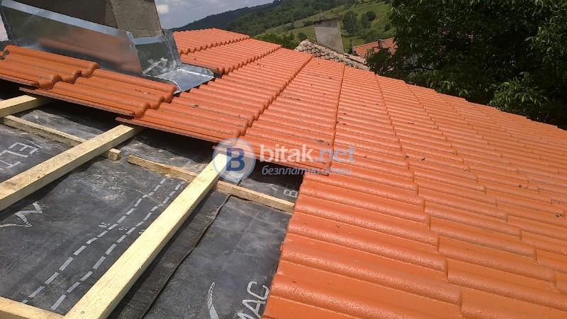 Ремонт на всички видове покриви 0893831515