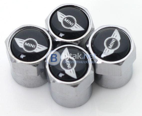 Капачки за винтил –Volvo,Mini Cooper,Alfa Romeo,Saab