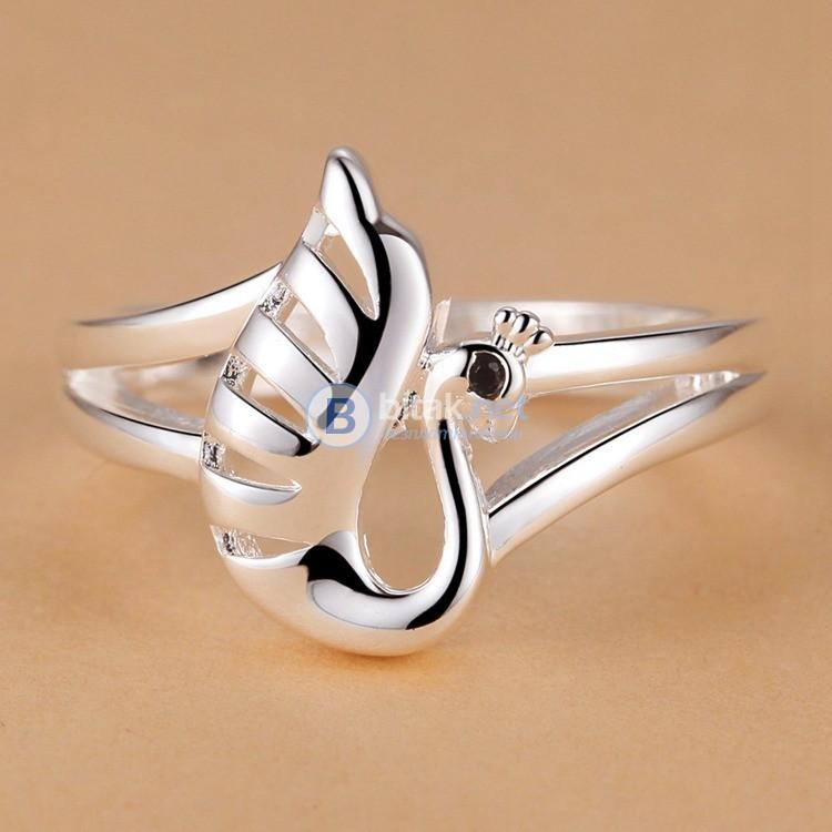Дамски Пръстен сребърно покритие 925 Silver Посребрени пръстени халка