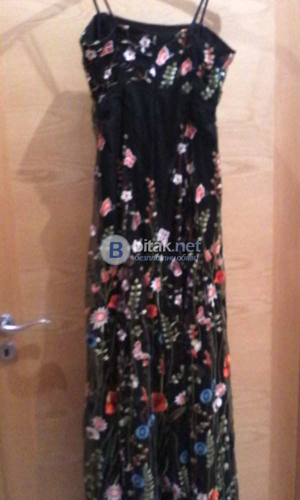 Дизайнерска рокля с оригинален плат Dolce & Gabbana - 770 лева