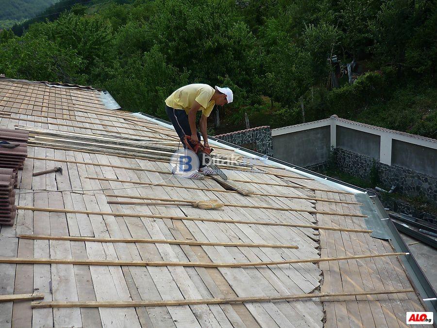 Ремонт на покриви в цялата страна - 0886731469
