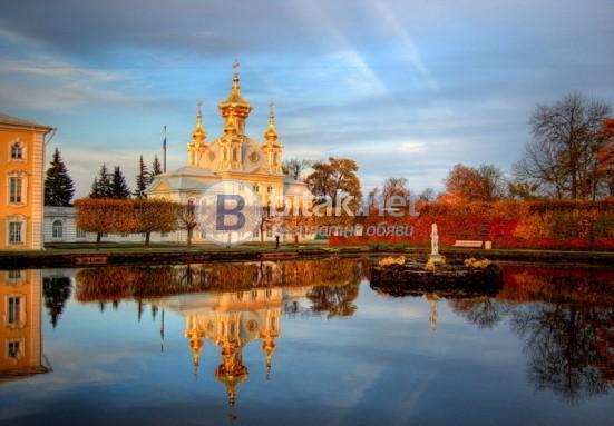 Златна есен в Санкт Петербург