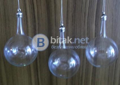 Стъклени топки ф 4 см. за декорация