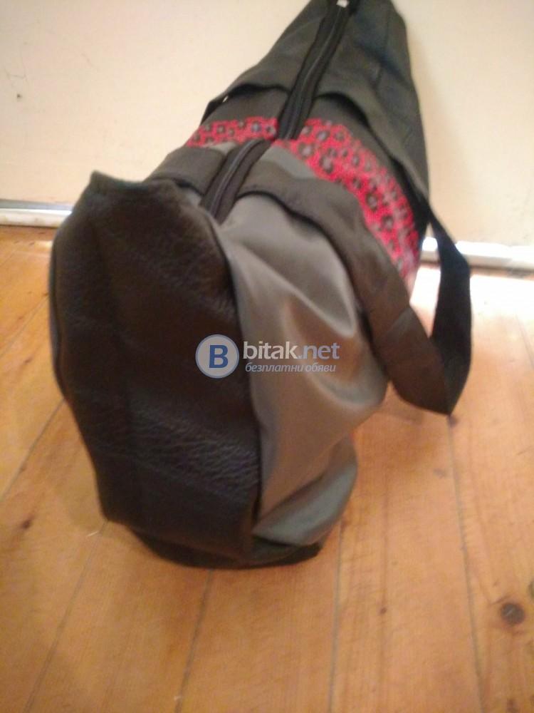 Дамска кожена чанта в три цвята