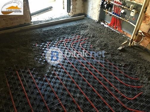 Машинна подова замазка върху подово от Данев Строй ЕООД