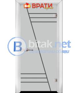 Стъклена интериорна врата, Gravur G 13-4