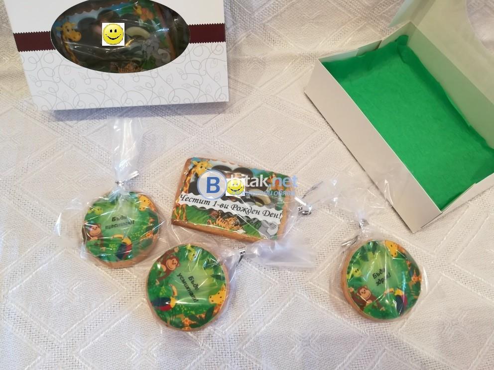 Персонализирани бисквитки със снимка