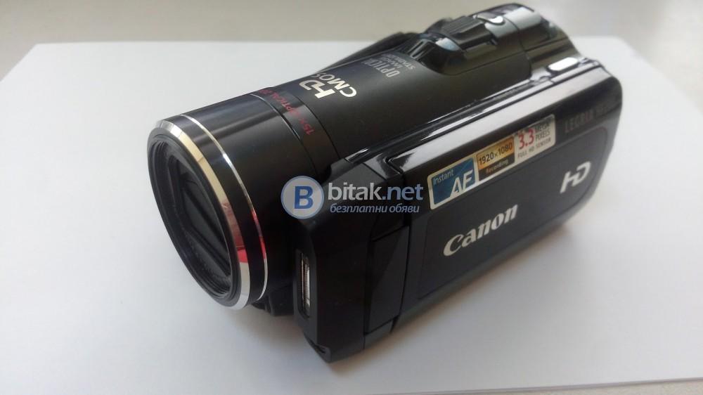 Продавам Видео Камера Canon HF200 Full HD Неизползвана Като Нова
