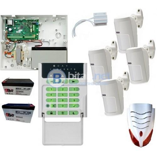 Алармена система за дома или офиса Eclipse 8 с 4 PIR датчика на ПРОМО цена!!!