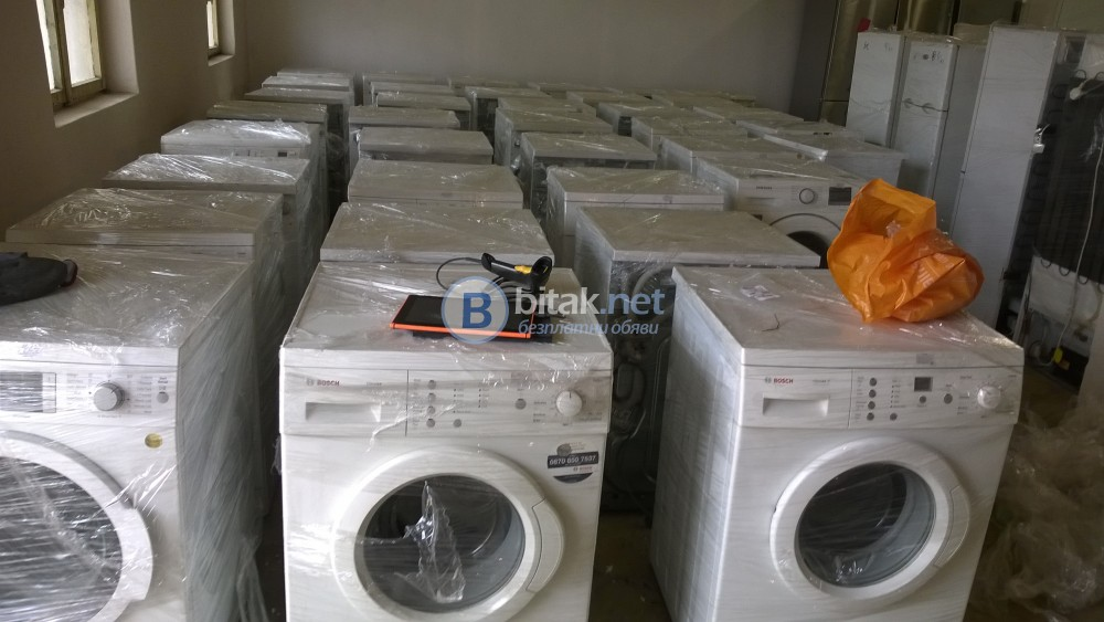 Употребявани електроуреди (хладилници, перални, сушилни и др.) на едро