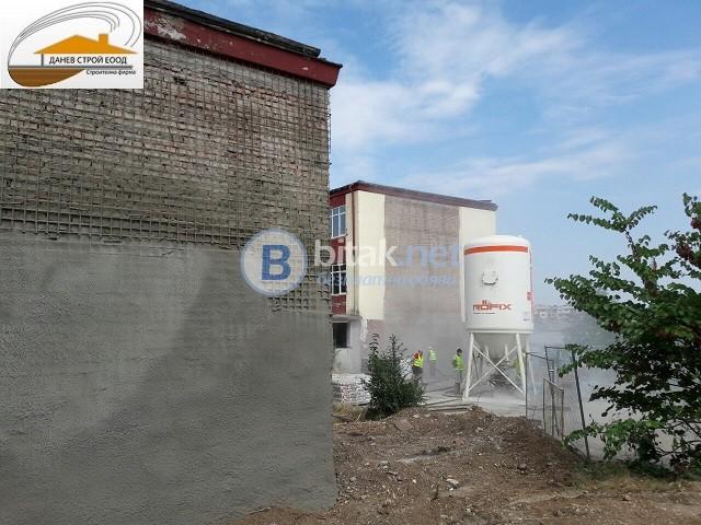 Конструктивно укрепване на къщи и сгради с армиран торкрет бетон