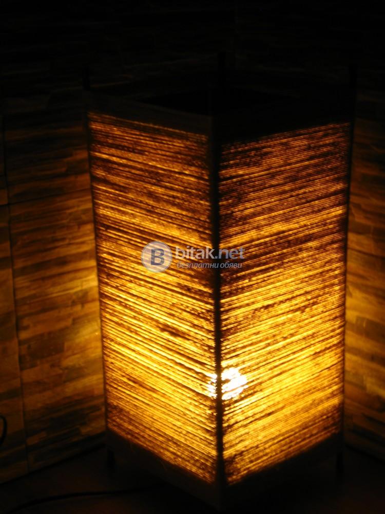 Нощна стилна настолна лампа