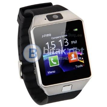Смарт часовник телефон с камера DZ09 Smart Watch със Сим карта USB Bluetooth Крачкомер Фейсбук