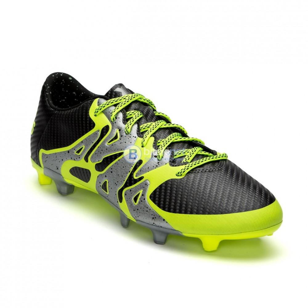 Adidas X 15.3 FG/AG grey ФУТБОЛНИ ОБУВКИ