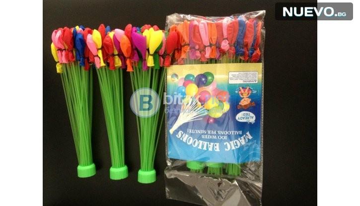 Страхотно  забавление за деца и възрастни - 110 броя водни балони