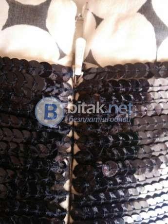 Рокля от естествена коприна,номер 36(S)