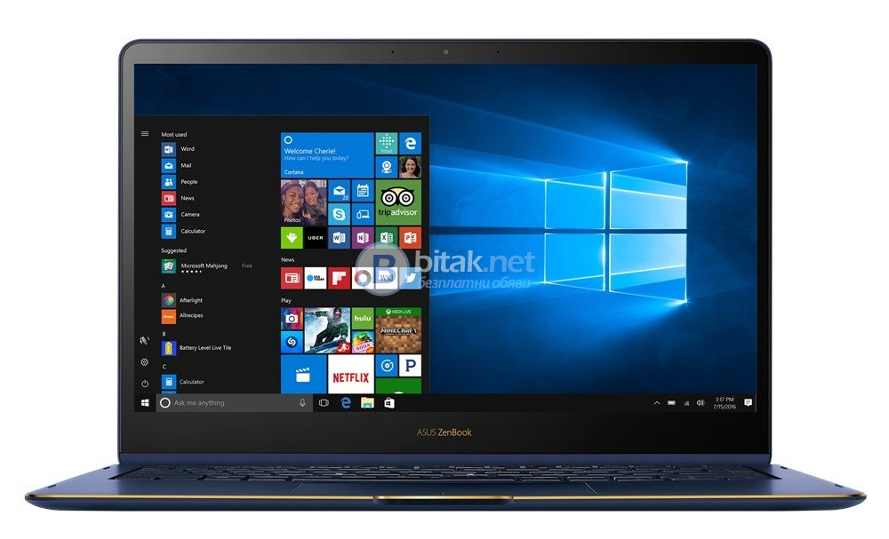"""Asus ZenBook Flip S UX370UA-C4061T, 90NB0EN1-M04180, 13.3"""", Intel Core i7 Dual-Core"""