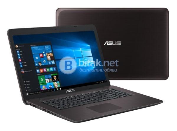 "Asus K756UQ-T4021D, 90NB0C31-M00280, 17.3"", Intel Core i5 Dual-Core"