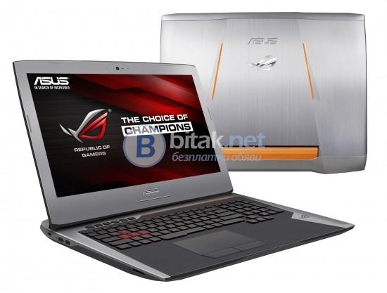 "Asus RoG G752VS-GC063T, 90NB0D71-M05430, 17.3"", Intel Core i7 Quad-Core"