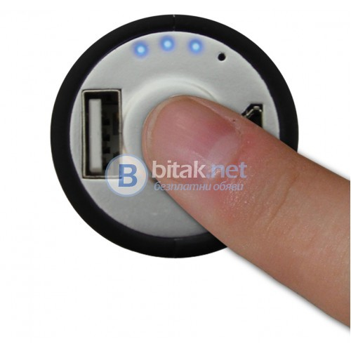 "Джобно зарядно с USB ""Класическа батерия"", 2000mAh"