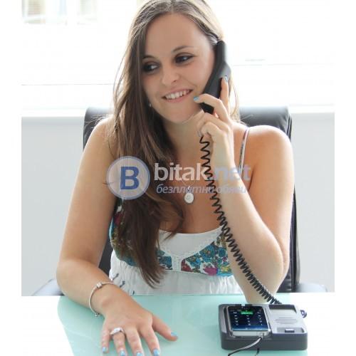 Стационарен телефон за iphone 3G, 4 и 4S - не само забавно, но и много удобно