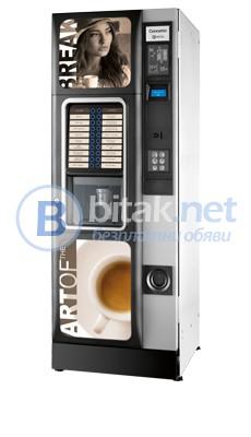 Вендинг автомат за кафе и топли напитки