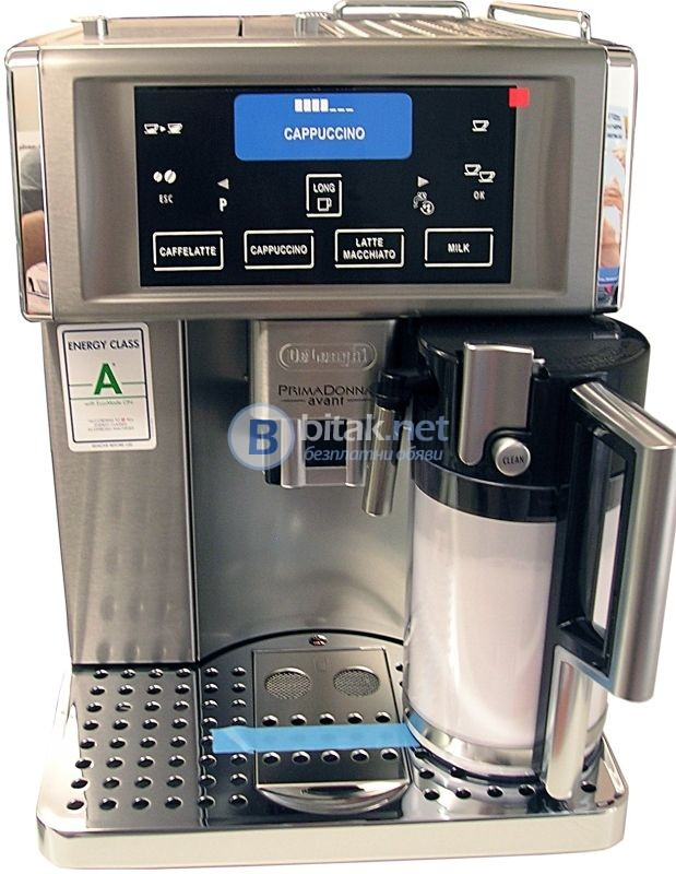 Оторизиран сервиз саеко и делонги продава швейцарски и италиански напълно автоматични кафе машини за