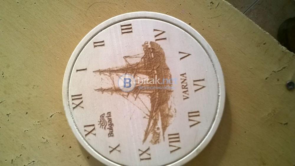 Дървени кръгли заготовки за часовници